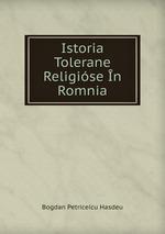 Istoria Tolerane Religise n Romnia
