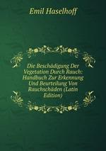 Die Beschdigung Der Vegetation Durch Rauch: Handbuch Zur Erkennung Und Beurteilung Von Rauchschden (Latin Edition)