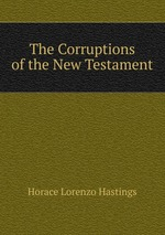 The Corruptions of the New Testament