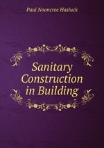 Sanitary Construction in Building