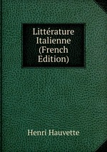 Littrature Italienne (French Edition)