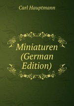 Miniaturen (German Edition)