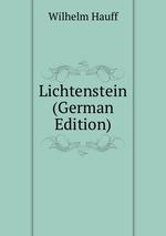 Lichtenstein (German Edition)