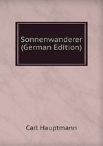 Sonnenwanderer (German Edition)
