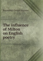 The influence of Milton on English poetry