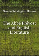 The Abb Prvost and English Literature