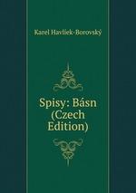 Spisy: Bsn (Czech Edition)