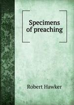 Specimens of preaching