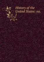 History of the United States: no. I