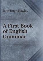 A First Book of English Grammar