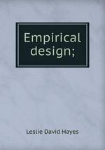 Empirical design;