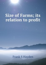 Size of Farms; its relation to profit