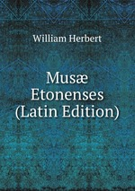 Mus Etonenses (Latin Edition)