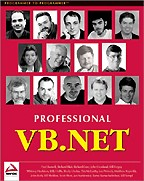 Professional VB.NET. На английском языке