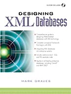 Designing XML Databases (+CD)