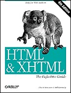 HTML & XHTML. The DEfinitive Guide. 4-th edition