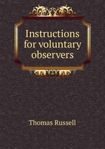 Instructions for voluntary observers