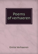 Poems of verhaeren