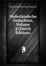 Nederlandsche Gedachten, Volume 4 (Dutch Edition)