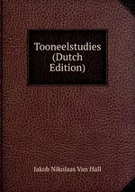 Tooneelstudies (Dutch Edition)