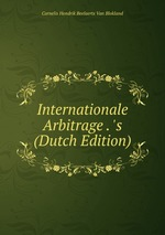 Internationale Arbitrage . `s (Dutch Edition)