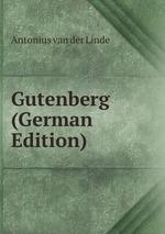 Gutenberg (German Edition)