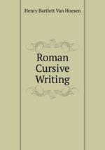Roman Cursive Writing