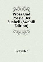 Prosa Und Poesie Der Suaheli (Swahili Edition)
