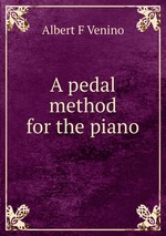 A pedal method for the piano
