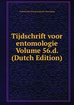 Tijdschrift voor entomologie Volume 56.d. (Dutch Edition)