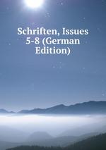 Schriften, Issues 5-8 (German Edition)
