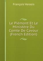 Le Pimont Et Le Ministre Du Comte De Cavour (French Edition)