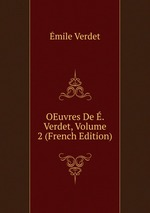 OEuvres De . Verdet, Volume 2 (French Edition)
