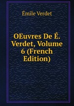OEuvres De . Verdet, Volume 6 (French Edition)