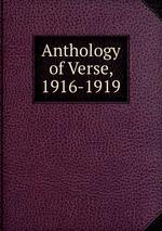 Anthology of Verse, 1916-1919