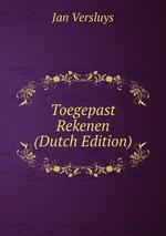 Toegepast Rekenen (Dutch Edition)