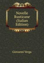 Novelle Rusticane (Italian Edition)