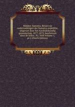 Midden-Sumatra. Reizen en onderzoekingen der Sumatra-expeditie, uitgerust door het Aardrijkskundig genootschap, 1877-1879, beschreven door de leden . P.J. Veth Volume 1, pt.2 (Dutch Edition)