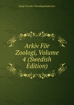 Arkiv Fr Zoologi, Volume 4 (Swedish Edition)