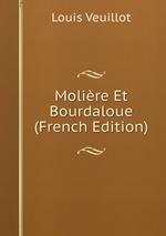 Molire Et Bourdaloue (French Edition)