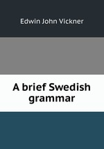 A brief Swedish grammar