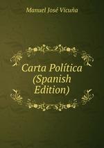 Carta Poltica (Spanish Edition)