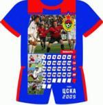 Календарь футбольного клуба ЦСКА на 2005 год