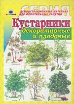 Кустарники декоративные и садовые