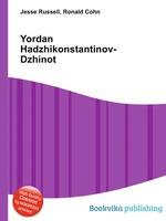 Yordan Hadzhikonstantinov-Dzhinot
