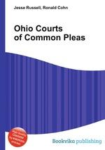 Ohio Courts of Common Pleas