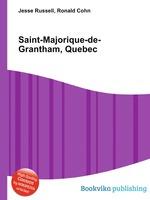 Saint-Majorique-de-Grantham, Quebec
