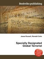 Specially Designated Global Terrorist