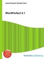 WordPerfect 4.1