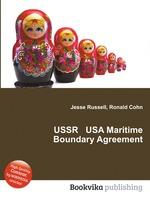 USSR USA Maritime Boundary Agreement